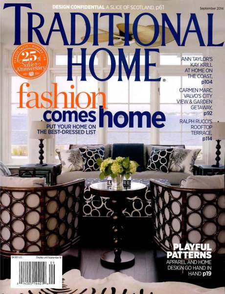 Traditional Home.Sept 2014.Cover